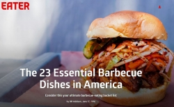"2 Georgia barbecue dishes on list ""23 Essential Barbecue Dishes in U.S."""